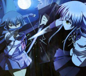 Angel Beats Kanade Tachibana Eri Shiina.Android wallpaper 2160x1920