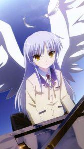 Angel Beats Kanade Tachibana.Sony Xperia Z wallpaper 1080x1920
