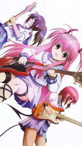 Angel Beats Yui Masami Iwasawa 2160x3840