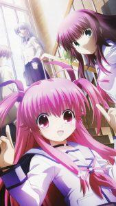 Angel Beats Yuri Nakamura Kanade Tachibana Yui.HTC One wallpaper 1080x1920