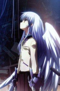 Angel Beats.320x480.Kanade Tachibana (Angel, Tenshi) (4)