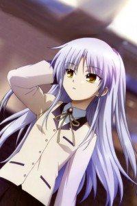 Angel Beats.320x480.Kanade Tachibana (Angel, Tenshi) (7)