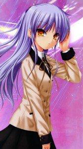 Angel Beats.360x640.Kanade Tachibana (Angel, Tenshi) (2)