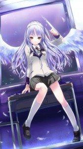 Angel Beats.360x640.Kanade Tachibana (Angel, Tenshi) (7)