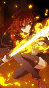 Skakugan no Shana 360x640 wallpaper