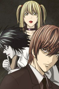 Death Note.Amane Misa.Yagami Light.L.320x480