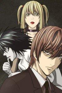 Death Note.Amane Misa.Yagami Light.L.320x480