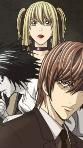 Death Note.Amane Misa.Yagami Light.L.360x640