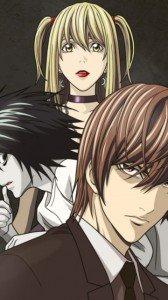 Death Note.Amane Misa.Yagami Light.L.360x640
