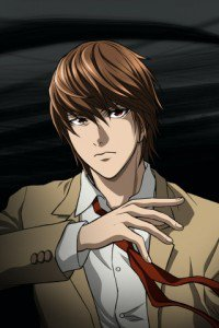 Death Note.Yagami Light.320x480