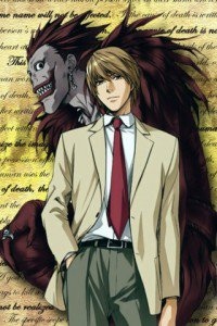 Death Note.Yagami Light.Ryuk.320x480