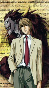 Death Note.Yagami Light.Ryuk.360x640