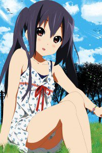 K-On.Azusa Nakano.640x960
