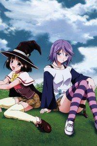 Rosario to Vampire.Mizore Shirayuki.Yukari Sendo.640x960