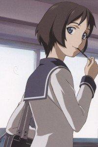 Ga-Rei Zero.Kagura Tsuchimiya.