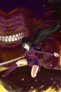 Ga-Rei Zero.Yomi Isayama