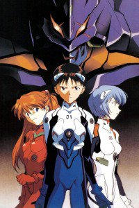 Neon Genesis Evangelion.Asuka Langley Soryu.Rei Ayanami.Shinji Ikari