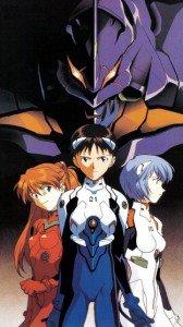 Neon Genesis Evangelion.Asuka Langley Soryu.Shinji Ikari.Rei Ayanami.