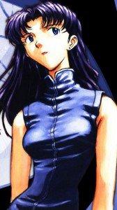 Neon Genesis Evangelion.Misato Katsuragi.