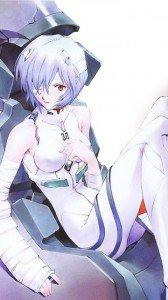 Neon Genesis Evangelion.Rei Ayanami.