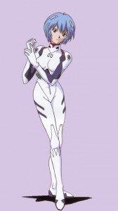Neon Genesis Evangelion.Rei Ayanami