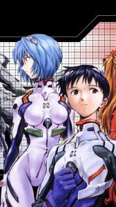 Neon Genesis Evangelion.Shinji Ikari.Rei Ayanami.
