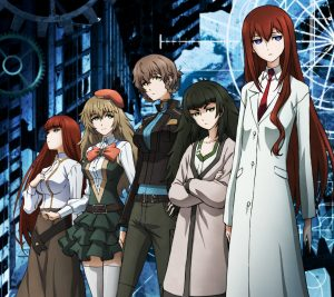 Steins;Gate.Android wallpaper 2160x1920