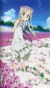 Ano Hi Mita Hana no Namae o Bokutachi wa Mada Shiranai Meiko Honma.HTC One wallpaper 1080x1920