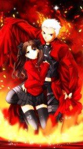 Fate-stay Night.Rin Tosaka.Archer.360x640