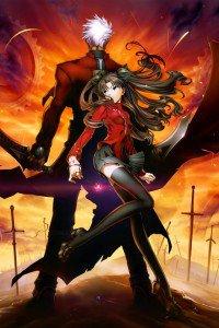 Fate-stay Night.Rin Tosaka.Archer.640x960