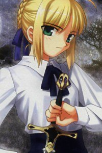 Fate-stay Night.Saber.320x480