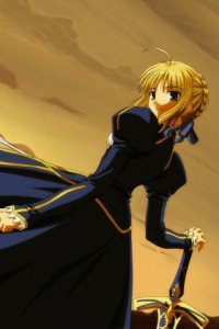 Fate-stay Night.Saber.320x480