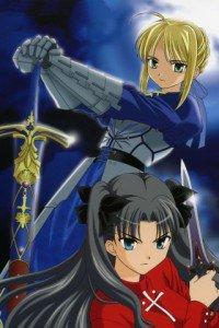 Fate-stay Night.Saber.Rin Tosaka.320x480