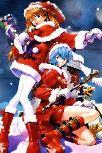Merry Christmas.Evangelion.320x480