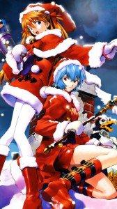 Merry Christmas.Evangelion.360x640