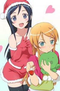 Merry Christmas.Ore no Imouto ga Konna ni Kawaii Wake ga Nai.640x960