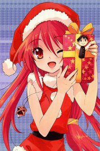 Merry Christmas.Shakugan no Shana.320x480