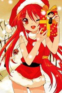 Merry Christmas.Shakugan no Shana.320x480