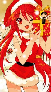 Merry Christmas.Shakugan no Shana.360x640