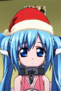 Merry Christmas.Sora no Otoshimono.320x480