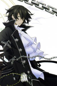 Pandora Hearts.Gilbert Nightray.320x480