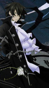 Pandora Hearts.Gilbert Nightray.360x640