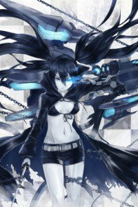 Black Rock Shooter.320x480