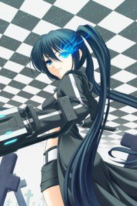 Black Rock Shooter.320x480 (3)