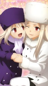 Fate-Zero Irisviel von Einzbern Illyasviel von Einzbern (Ilya) 2160x3840