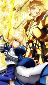 Fate-Zero Saber Gilgamesh 2160x3840
