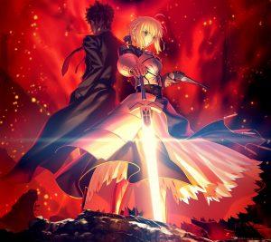 Fate-Zero Saber Kirei Kotomine.Android wallpaper 2160x1920