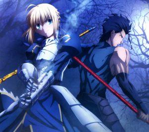 Fate-Zero Saber Lancer.Android wallpaper 2160x1920