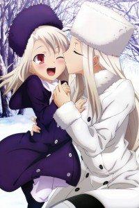 Fate-Zero.Irisviel von Einzbern.640x960