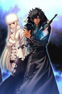 Fate-Zero.Irisviel von Einzbern.Kiritsugu Emiya.320x480